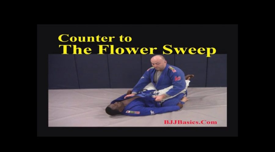 Counter to the flower sweep