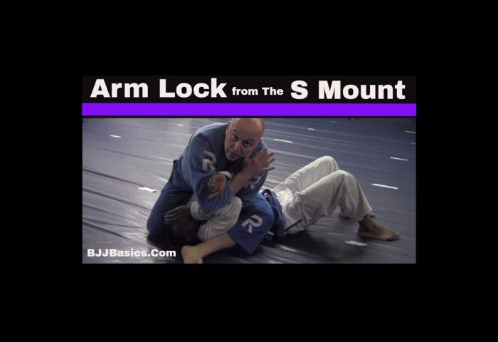 Arm Lock from S Mount
