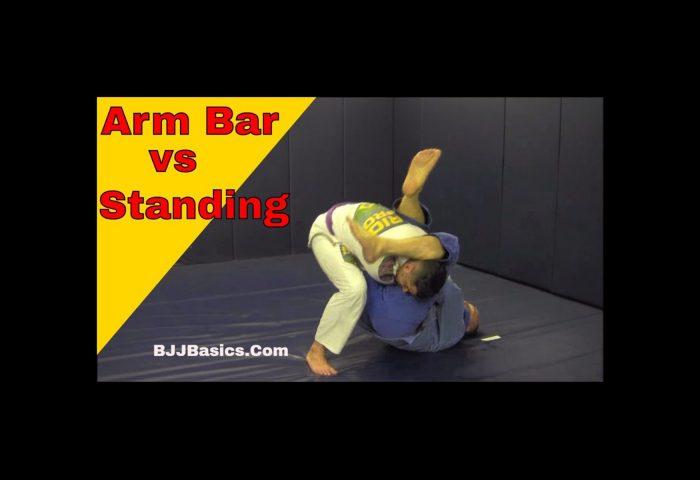 Arm Lock vs Standing opponent