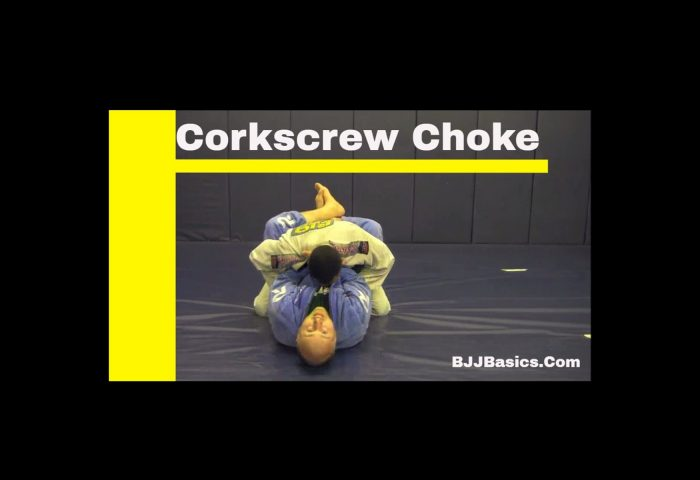 Corkscrew Choke
