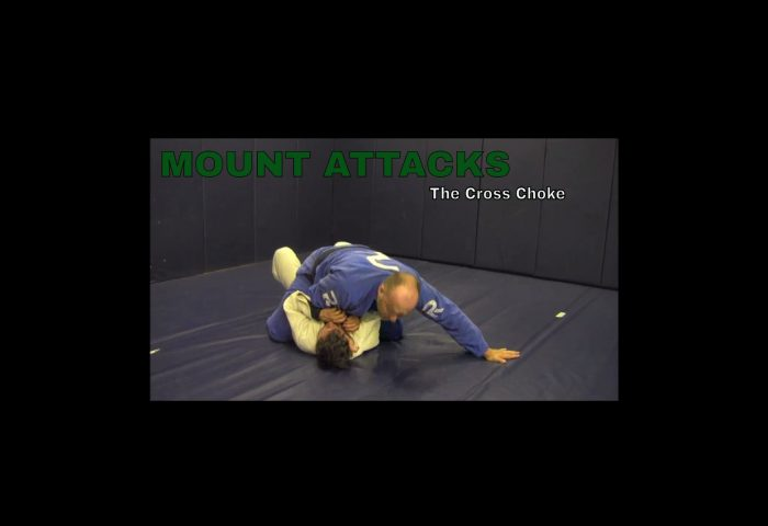 Cross Choke from Top Mount