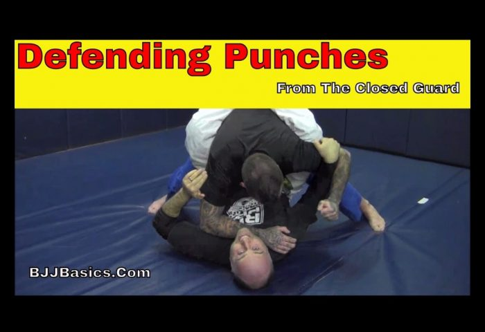 Defending Punches from Closed Guard in BJJ