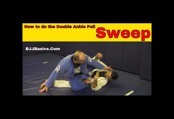 Double Ankle Pull Sweep