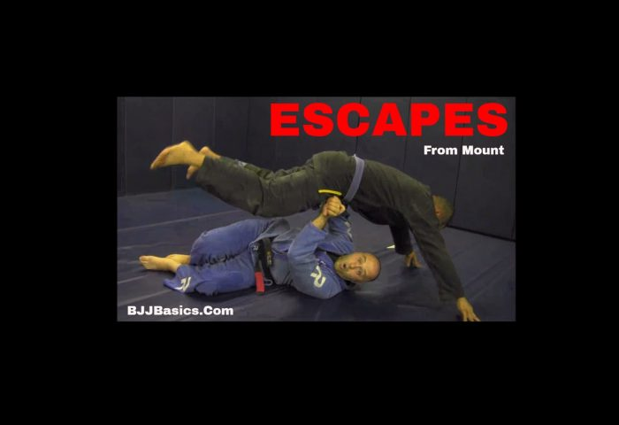 Elbow Escape from Mount
