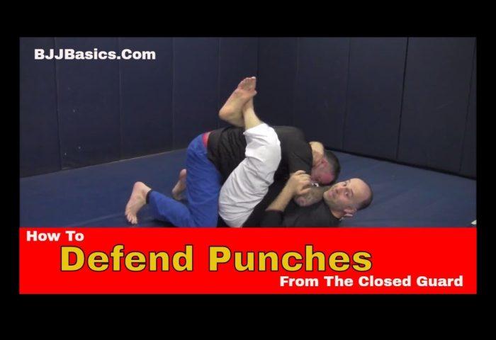 How to Defend Punches from Closed Guard in Brazilian Jiu Jitsu