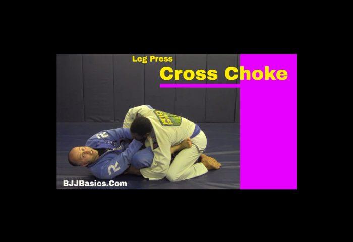 Leg Press Cross Choke
