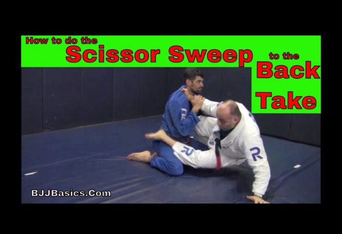 Scissor Sweep to Back Take